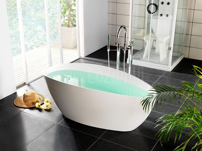 Marmite riva xl wanna wolnostoj ca 170 x 77 cm riva0002 - Vasca da bagno con gambe ...