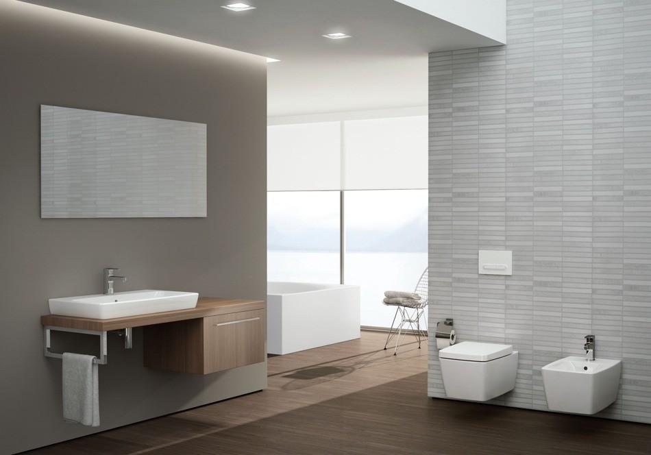 bathroom designs in attic - Vitra Metropole umywalka nablatowa 60 x 40 cm 5668B003