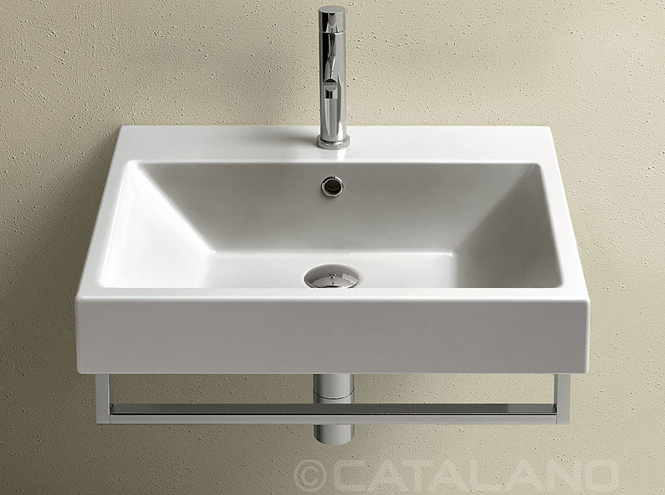 Catalano zero 60 umywalka 60 x 50 cm 16qze00 for Porte 60 x 50
