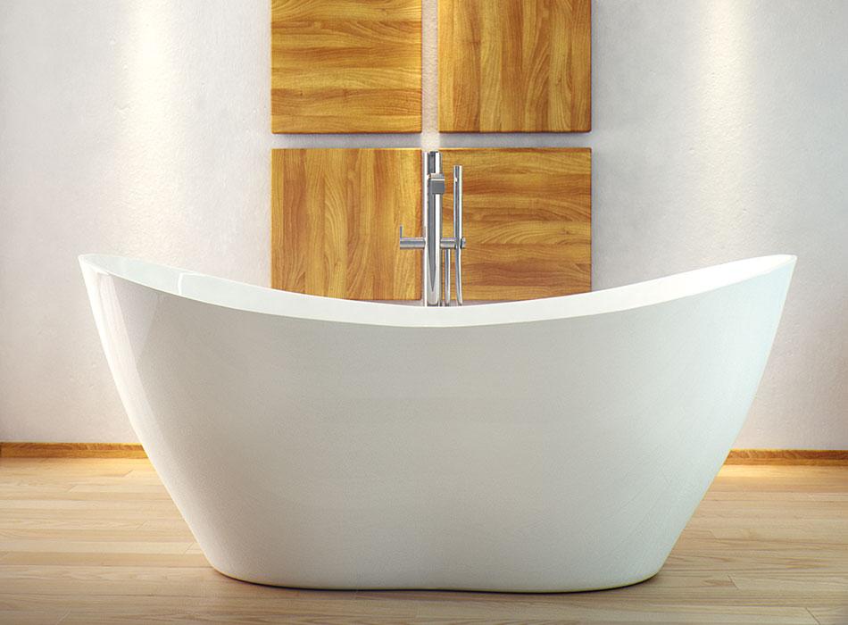 besco viya wanna wolnostoj ca 160 x 71 cm wmd 160 v. Black Bedroom Furniture Sets. Home Design Ideas