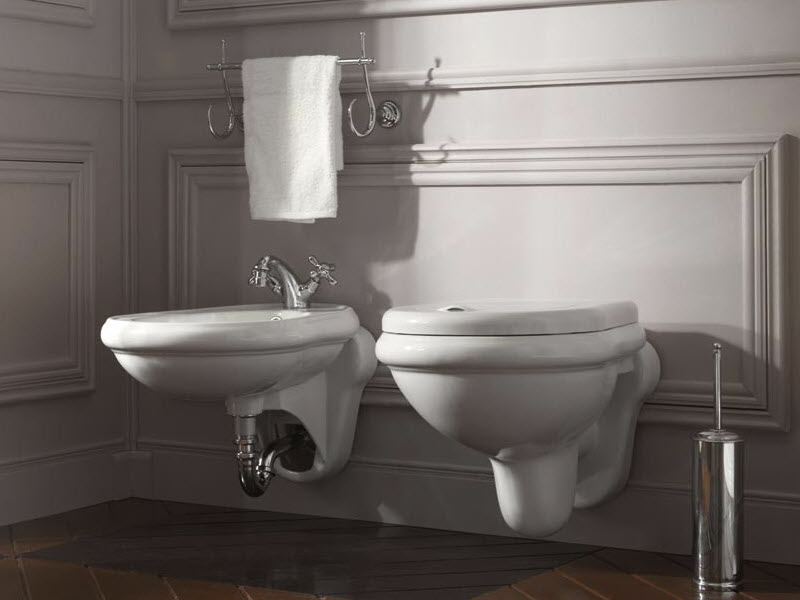 kerasan retro miska wc podwieszana 101501. Black Bedroom Furniture Sets. Home Design Ideas